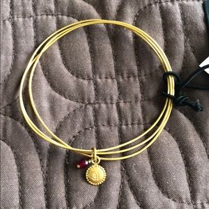 Athleta OM bangle bracelet